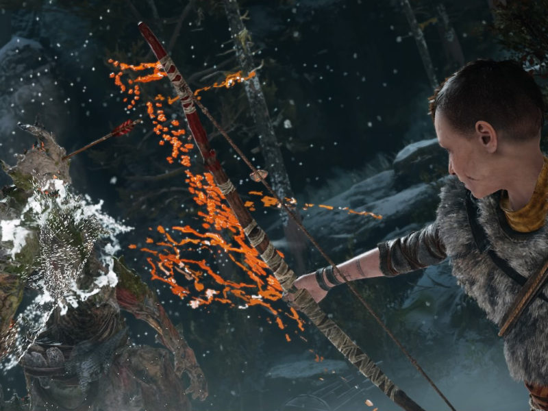 Atreus bow God of War