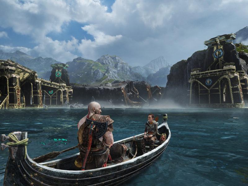 Kratos Atreus boat